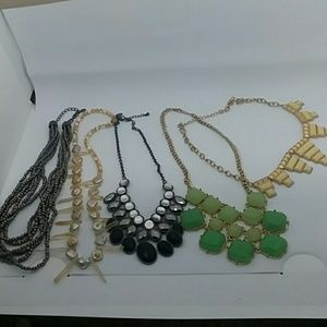 5 piece Statement Necklace Bundle 💜